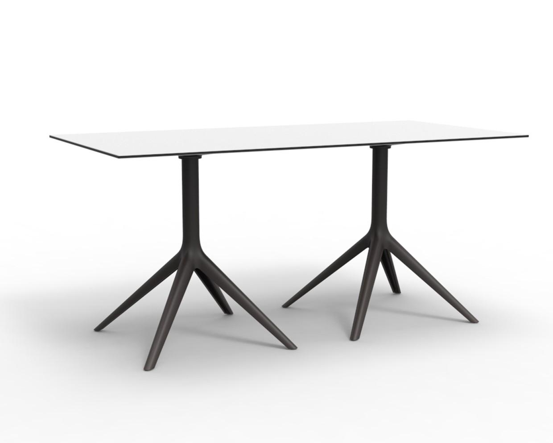 Mari-sol Double Base 4 Leg Table