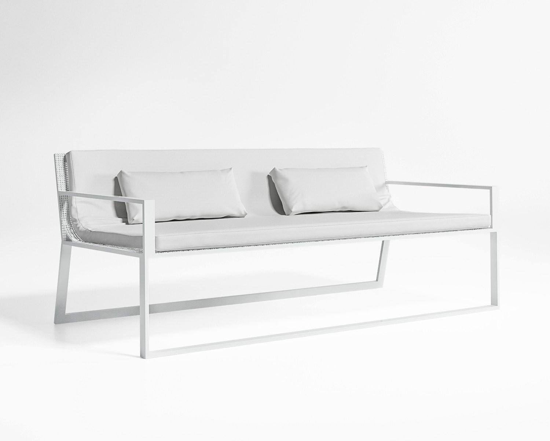 Blau Sofa