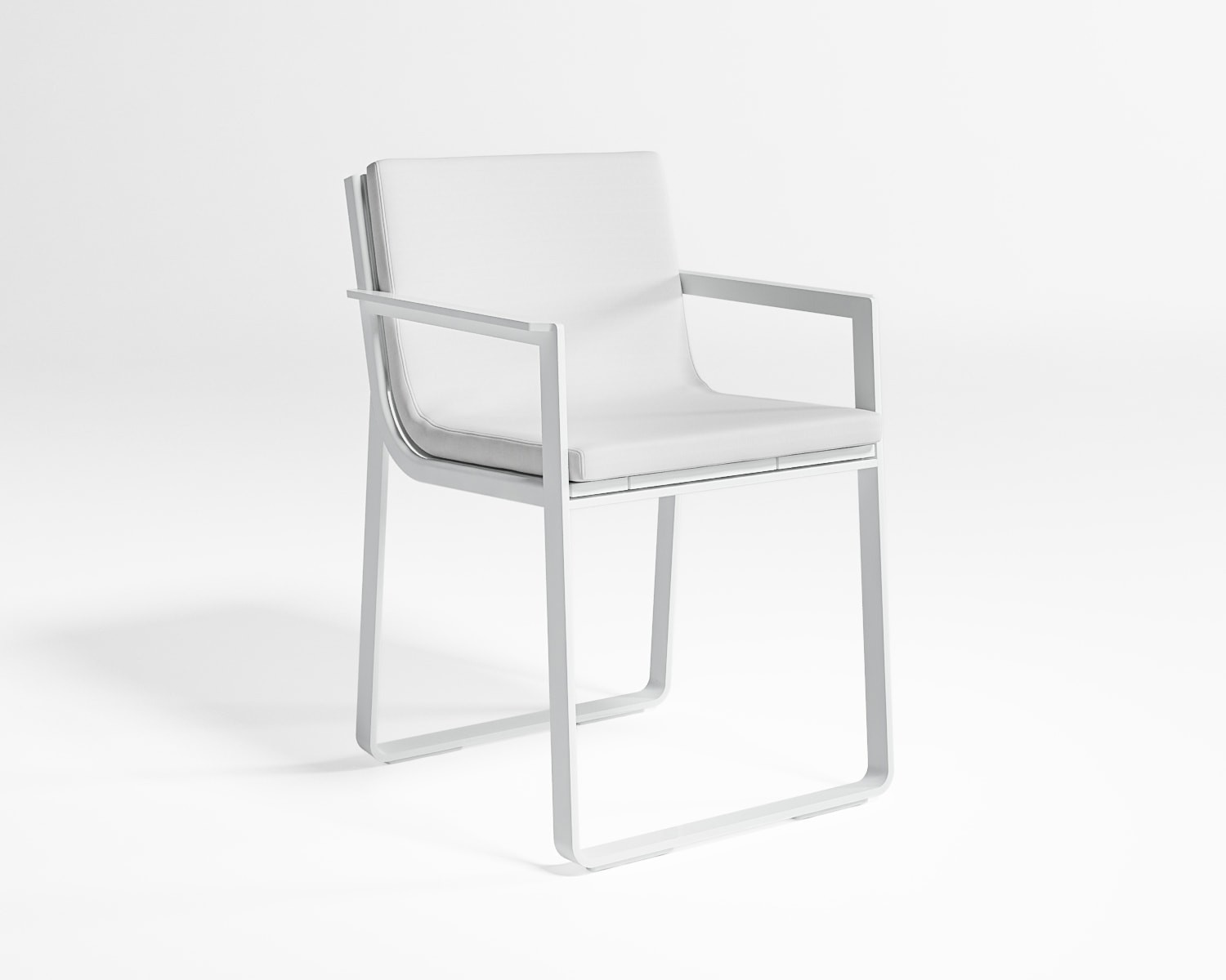 Flat Dining Chair