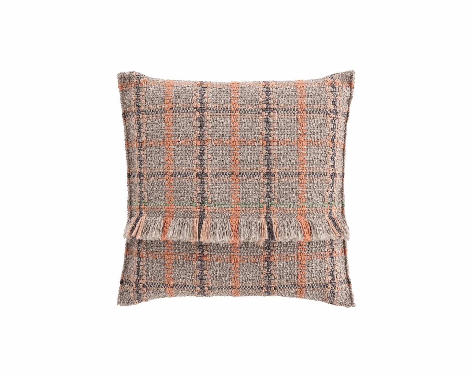 Garden Layers Big Cushion Tartan