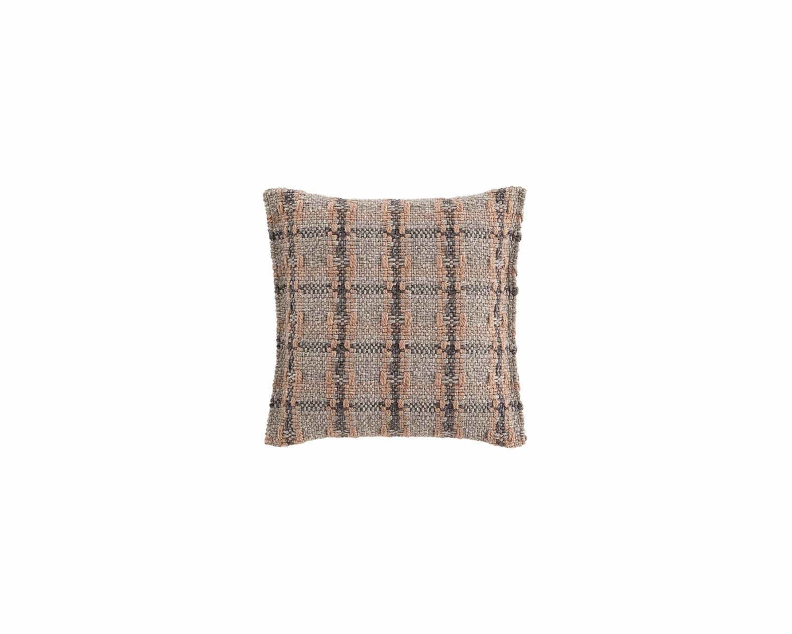 Garden Layers Small Cushion Checks