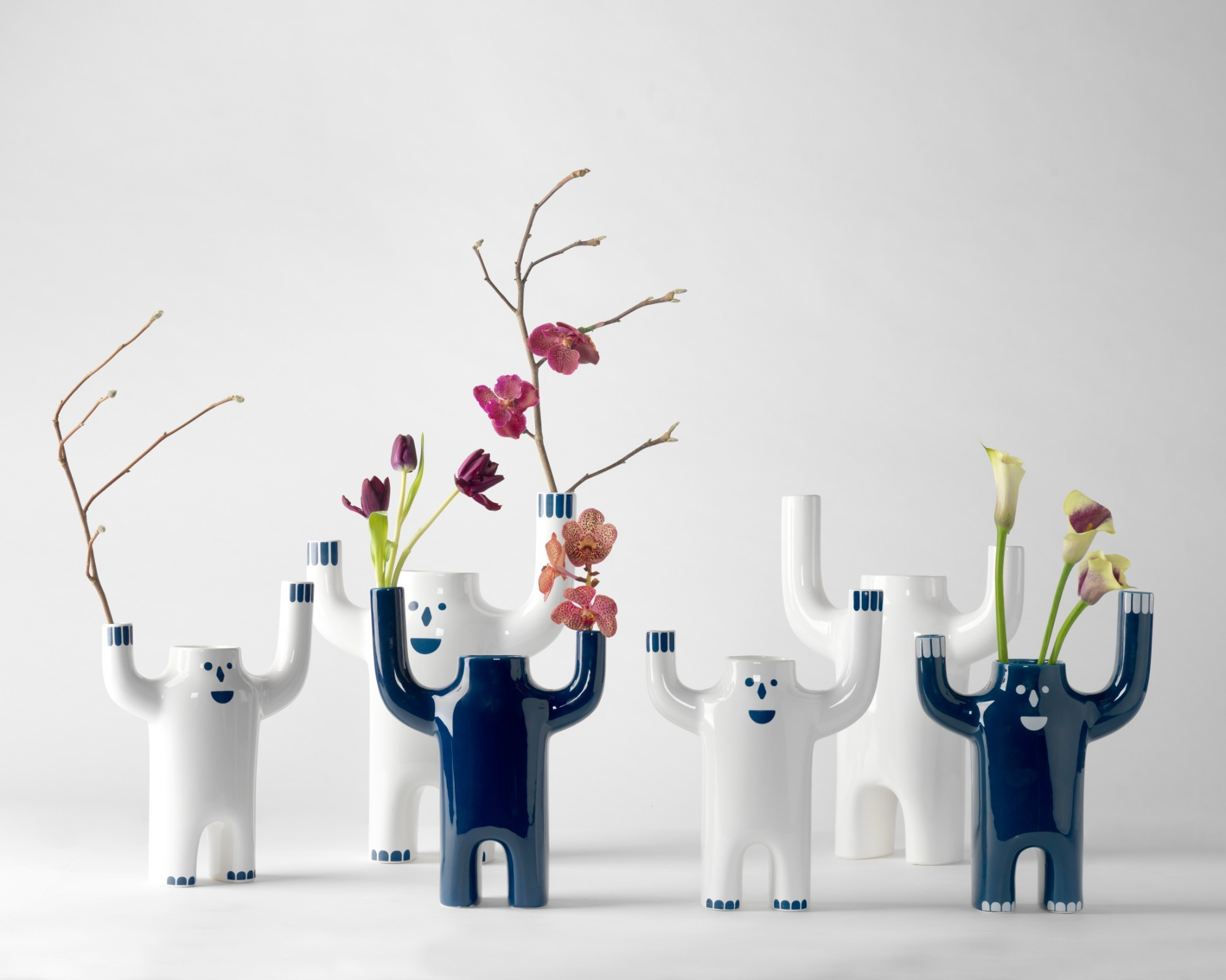 Happy Susto Vases