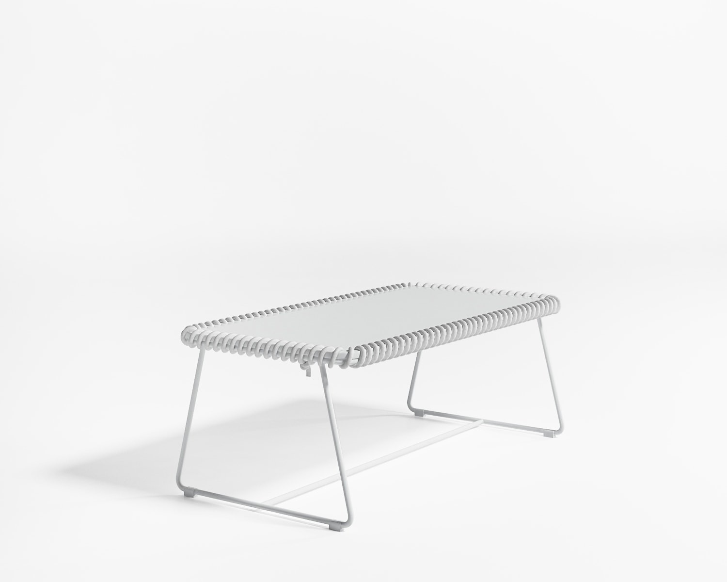 Textile Coffee Table Double