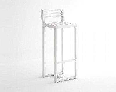 DNA Stool with Backrest