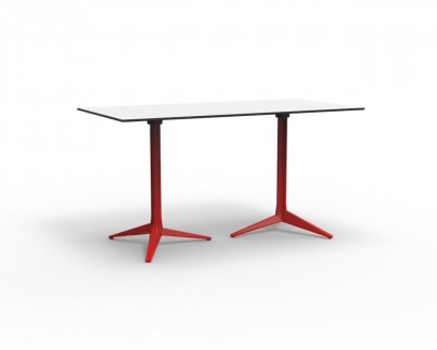 Faz Double Base 3 Leg Table