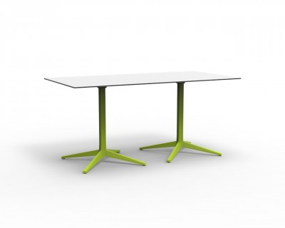 Faz Double Base 4 Leg Table