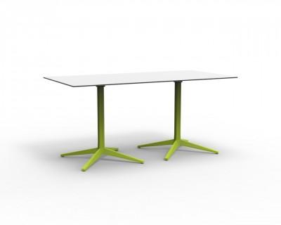 Faz Double Base 4 Leg Table