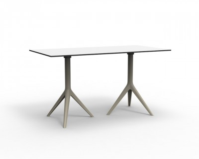 Mari-sol Double Base 3 Leg Table