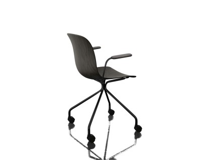 Troy 4 Star Chair (Base on Wheels)