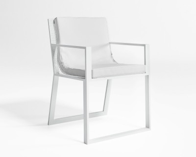Blau Dining Chair with Arms