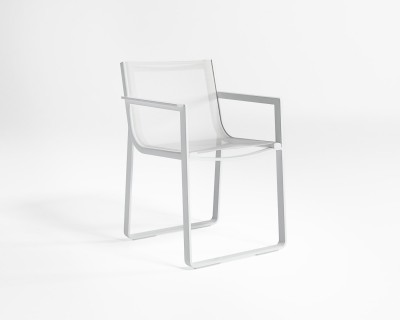 Flat Textil Dining Chair