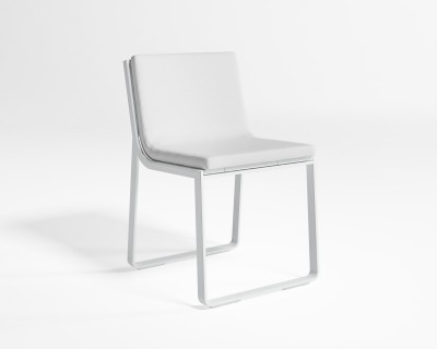 Flat Dining Chair without Arms