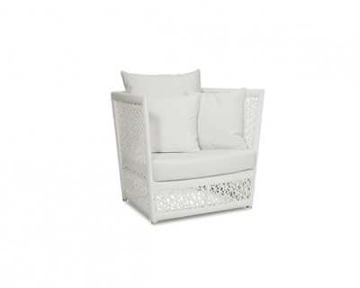 Tunis Armchair with Low Backrest