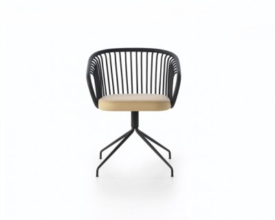 Huma Swivel Dining Armchair