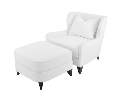 Jensen Lounge Chair and Ottoman