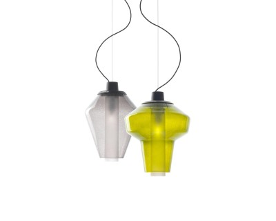 Metal Glass Suspension Lamp