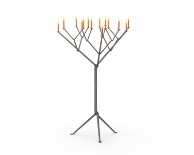 Officina Tree Candle Holder