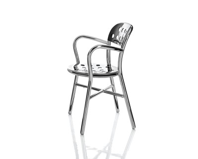 Pipe Dining Chair (Aluminium)