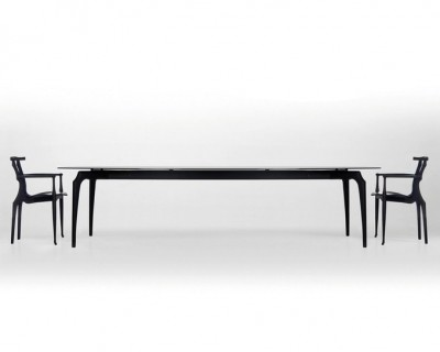 Gaulino Glass Top Table