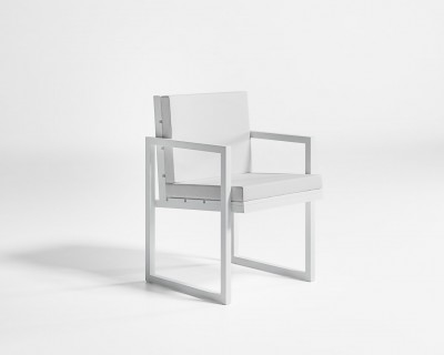 Saler High Backrest Dining Chair