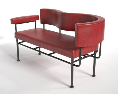 Cotton Club Lounge Chair Two Seater (1988)