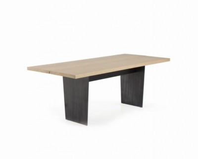 Slats Rectangular Dining Table