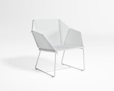 Textile Lounge Armchair